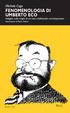 Cover of Fenomenologia di Umberto Eco