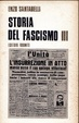 Cover of Storia del fascismo III