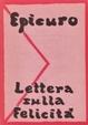 Cover of Lettera sulla felicità