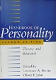 Cover of Handbook of Personality