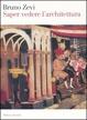 Cover of Saper vedere l'architettura
