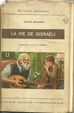 Cover of La vie de Disraëli