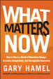 Cover of What Matters Now