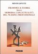 Cover of Filosofia e teoria nella moderna concettualità del nursing professionale