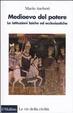 Cover of Medioevo del potere