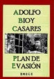 Cover of Plan de evasión