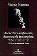 Cover of BIENESTAR INSUFICIENTE, DEMOCRACIA INCOMPLETA