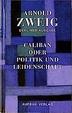 Cover of Caliban oder Politik und Leidenschaft
