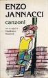 Cover of Canzoni di Enzo Jannacci