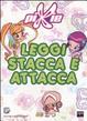 Cover of Leggi, stacca e attacca. Con adesivi