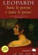 Cover of Tutte le poesie e tutte le prose