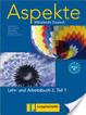 Cover of Aspekte 2(B2) in Teilbänden. Lehr- und Arbeitsbuch 2, Teil 1