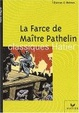 Cover of La Farce de maître Pathelin