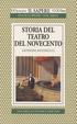 Cover of Storia del teatro del Novecento