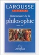 Cover of Dictionnaire de la philosophie