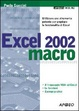Cover of Excel 2002 macro