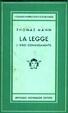 Cover of La legge (I dieci comandamenti)