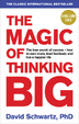 Cover of The Magic of Thinking Big