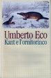 Cover of Kant e l'ornitorinco