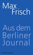 Cover of Aus dem Berliner Journal