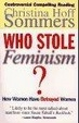 Cover of Who Stole Feminism?