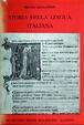 Cover of Storia della lingua italiana
