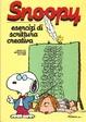 Cover of Snoopy esercizi di scrittura creativa