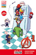 Cover of Avengers #1 - Avengers, n. 16 - Cover B Skottie Young