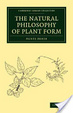Cover of The Natural Philosophy of Plant Form