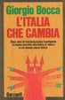 Cover of L'Italia che cambia