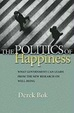 Cover of The Politics of Happiness