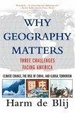 Cover of Why Geography Matters