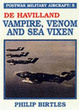 Cover of De Havilland Vampire, Venom and Sea Vixen