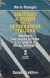 Cover of Scrittori e critici della letteratura italiana