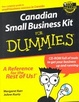 Cover of Canadian Small Business Kit for Dummies