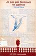 Cover of Jo pos per testimoni les gavines