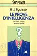 Cover of Le prove d'intelligenza