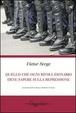 Cover of Quello che ogni rivoluzionario deve sapere sulla repressione