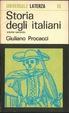 Cover of Storia degli italiani vol. II