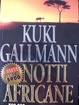 Cover of Notti africane