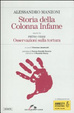 Cover of Storia della colonna infame-Osservazioni sulla tortura