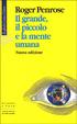 Cover of Il grande, il piccolo e la mente umana