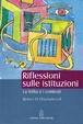 Cover of Riflessioni sulle istituzioni. La follia e i contesti
