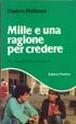 Cover of MILLE E UNA RAGIONE PER CREDERE