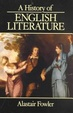 Cover of A History of English Literature