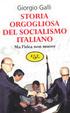 Cover of Storia orgogliosa del socialismo italiano
