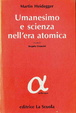 Cover of Umanesimo e scienza nell'era atomica