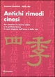 Cover of Antichi rimedi cinesi