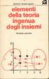 Cover of Elementi della teoria ingenua degli insiemi