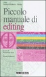 Cover of Piccolo manuale di editing